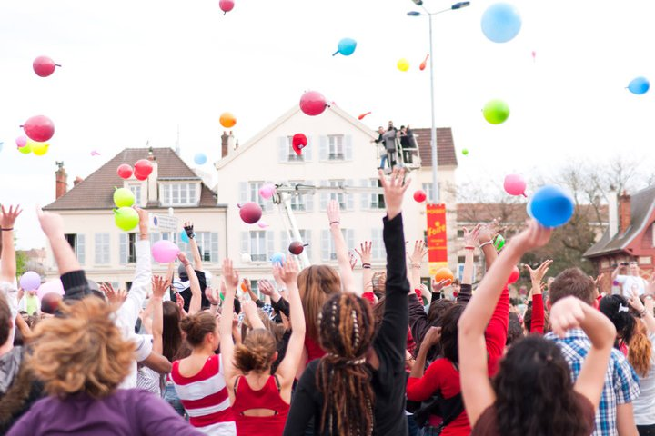Flashmob Sidaction – Ville de Poissy
