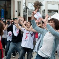 Flashmob Siedaction Poissy